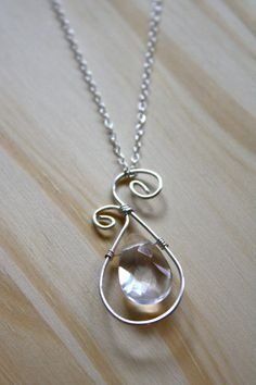 Sterling Silver Wire Wrapping Necklace