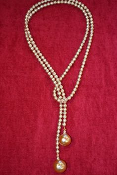 Necklace Brown Pearl Vintage Necklace - List of the best jewelry Pearl Necklace Designs, Wire Jewelry Designs, Diy Necklace, Jewelry Patterns, Jewelry Sets, Bead Jewellery, Beaded Jewelry, Jewelry Necklaces, Handmade Jewelry