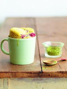 Tassenkuchen können mit allerhand verfeinert und veredelt werden. Es schmeckt was gefällt.