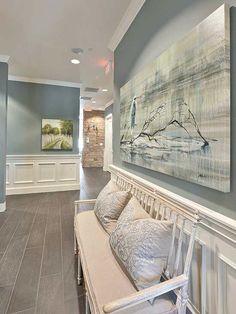 Benjamin moore sea pine paint color (AC-17) - LOVE!
