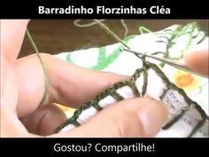 Barradinho Florzinhas Cléa - Círculo na TV
