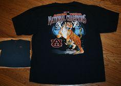 93863f8d6a1a Guy Harvey 2010 Auburn Tigers National Champions football T-Shirt Men's 2XL  xxl #GuyHarvey