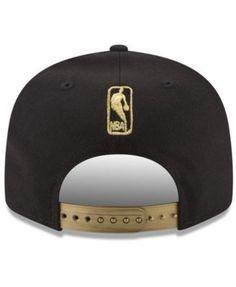 New Era Portland Trail Blazers Gold Mark 9FIFTY Snapback Cap - Gray Adjustable