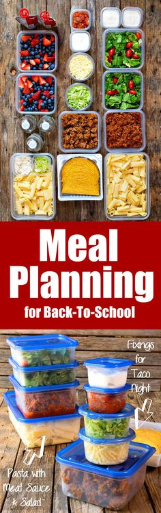 Back-to-School Routines are easier with our Meal Planning and Meal Prepping tips and tricks! #sponsored @peapoddelivers
