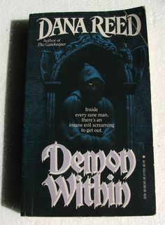 Demon Within Paperback Book Horror Author Dana Reed Old book