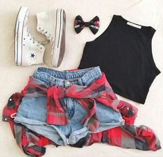 this pin is about a cute outfit for summer for teenagers