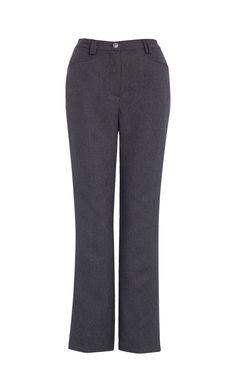 Pantalon Prince de Galles avec des broderies aux poches.