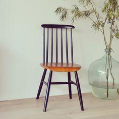 Vintage Stäbchenstuhl, Skandinavisches Design Von LeFlair Auf DaWanda.com