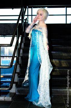 Elsa - Frozen by FoxLadyx