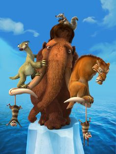 """Ice Age (2002) - """"Well, I think you're stressed, and that's why you eat so much. I mean, it's hard to get fat on a vegan diet."""""""