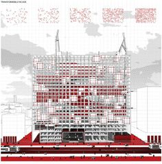 'Redesigning Detroit: A New Vision for an Iconic Site' Competition Entry / H Architecture