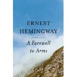 New Book Club book: Farewell to Arms by Ernest Hemingway. Click on the image to check our catalog.