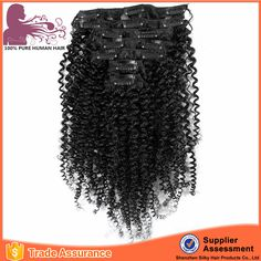 Check out this product on Alibaba.com App:Hair factory OEM high quality 100�uman hair afro kinky tight curly clip in hair extensions for african american https://m.alibaba.com/ZvMZzi
