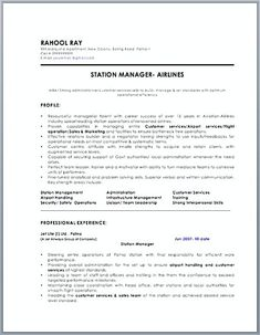 One Page Resume Template And How To Write A Perfect One  As You