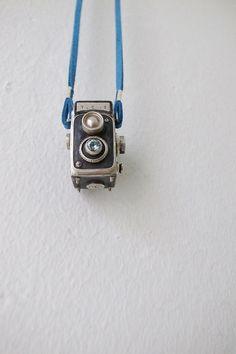 Twin-Lens Reflex Classic Silver Camera Zircon | Etsy