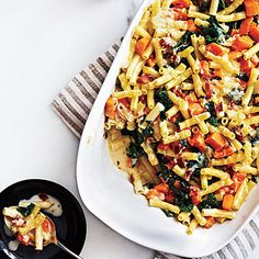 Bacon and Butternut Pasta. Broth, thickened with flour and enriched with crème fraîche, forms the savory sauce in this dish. We like the earthy heartiness of kale,...
