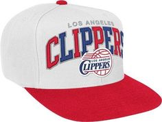 Los Angeles Clippers Mitchell  amp  Ness NBA HWC Arch W  Vintage Logo Tri- ee1ac5469