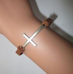 Braceletscross braceletbrown braceletinspiration by Youchic, $1.79