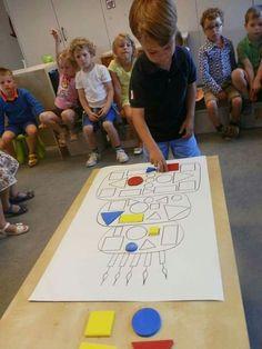 Imagem – 22 – Aluno On – kindergarden Montessori Activities, Kindergarten Activities, Infant Activities, Classroom Activities, Learning Activities, Preschool Activities, Kids Learning, Math For Kids, Shapes