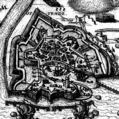 Cadena de mando del Tercio de la sangre 1591-1645 1591 to 1645 JUAN ALONSO LADRÓN DE GUEVARA Y  ALEGAMBE, SEÑOR D'ANTREVILLE (Andújar, 1584; fallecido en combate, cerca de Cassel, 8-Iv-1638), SEÑOR D'ATREVILLE Y PONT-A-MARCQ, del Consejo de Guerra de los Países Bajos, gobernador de Ostende (1656-38).