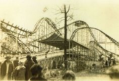 The Cyclone -the station & some of the track