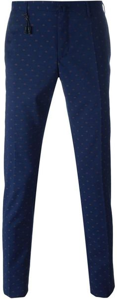Incotex embroidered trousers Young Fashion, Men's Fashion, Tailored Fashion, Men Wear, Young Men, Suit And Tie, Blue Wool, Men's Style, Dress Pants