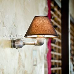 73.60$  Watch here - http://alierl.worldwells.pw/go.php?t=32569318545 - Loft Style Iron Water Pipe Lamp Industrial Vintage LED Wall Light Fixtures For Home Antique Edison Wall Sconce Indoor Lighting 73.60$