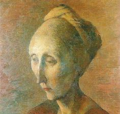 Pavel Tchelitchew. Portrait of Edith Sitwell.