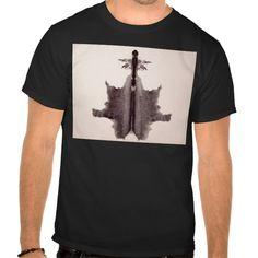 The Rorschach Test Ink Blots Plate 6 Hide Skin Rug T Shirt, Hoodie Sweatshirt