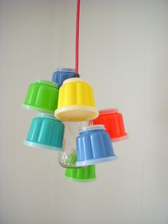 Tupperware chandelier!