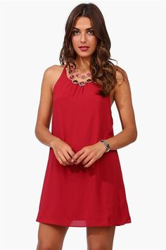 Little Red Dress in Burgundy: You know me and my red! :)