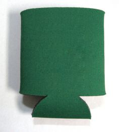 This is a sample of a GREEN collapsible Kan Kooler. It can be custom imprinted with your message by Crown Advertising.  Order at CrownAdv.com. Key Fobs, Coasters, Advertising, Crown, Mugs, Corona, Keychains, Coaster, Tumblers