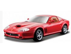 The Burago Ferrari 550 Maranello is a diecast model car from this fantastic manufacturer in 1/24th scale.