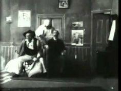 Uncle Josh in a Spooky Hotel (1900) - World's 1st MOVIE TRILOGY SEQUEL - Edwin S. Porter