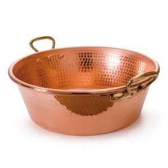 Jam Making in Unlined Copper Pots