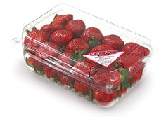 clamshell filled with our premium and proprietary Well-Pict berries Strawberry, Wellness, Fresh, Sweet, Beauty, Food, Candy, Essen, Strawberry Fruit