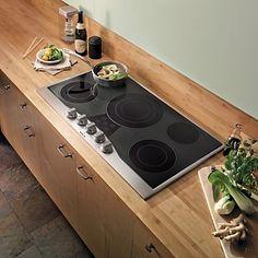 """36"""" Electric Cooktop (RDECU) in Stainless Steel/Black - Viking Range Corporation"""