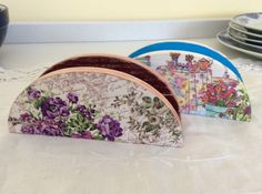 Magazine Holders, Tissue Holders, Wood Art, Painting, Home Decor, Wooden Chest, Kitchen Things, Wood Paintings, Tin Cans