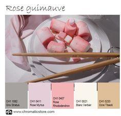 Cette palette de couleurs contemporaines est à la fois stimulante grâce au Rose…