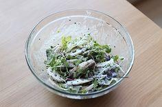 연근샐러드, 검은깨드레싱과 함께! 건강샐러드^^ : 네이버 블로그 Spinach, Cabbage, Vegetables, Food, Food Food, Essen, Cabbages, Vegetable Recipes, Meals