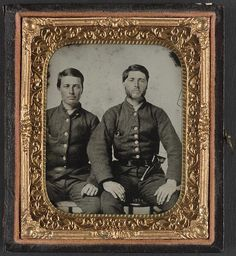Brothers Stephen D. and Moses M. Boynton, Privates in the South Carolina Cavalry Battalion, c. 1861 (Library of Congress)