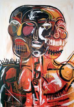 (3 Faces) by Simon Massey di Vallazza art online