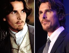 Men of the Christian Bale Stars Then And Now, Christian Bale, Celebs, Celebrities, Fan, Sexy, Fictional Characters, Celebrity, Hand Fan