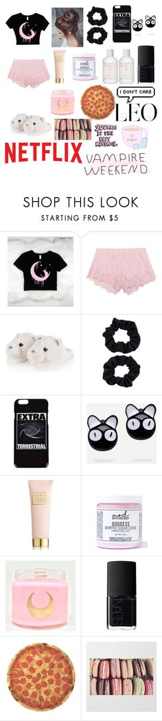 """""""I Dont Lose Any Sleep Over You 🌠"""" by sweetheart-the-moonbear ❤ liked on Polyvore featuring Puma, Accessorize, Ashley Williams, AERIN, Mod Bath and Body, Identity, NARS Cosmetics and Round Towel Co."""