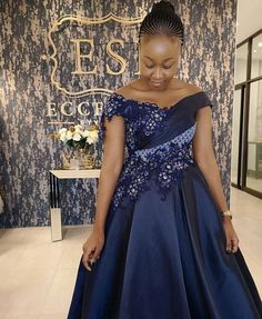 Shweshwe Dresses with Lace Latest Designs - Sunika Traditional African Clothes African Bridal Dress, Latest African Fashion Dresses, African Dresses For Women, African Print Dresses, African Clothes, African Women, Wedding Dresses South Africa, African Wedding Attire, African Attire