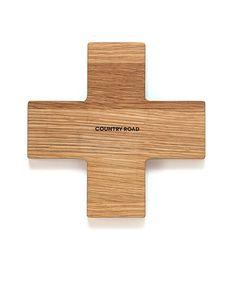 Oak #cross trivet from Country Road.