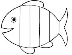 Free Rainbow Fish Template - PDF | 2 Page(s) | Page 2 | VBS ...