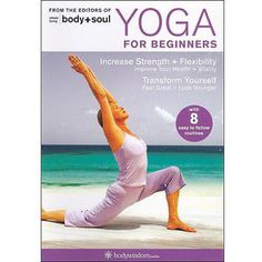 Yoga for Beginners DVD: 8 Yoga Video Routines for Beginners. Includes Gentle Yoga Workouts to Increase Strength & Flexibility: Barbara Benagh: Movies & TV Sanftes Yoga, Sup Yoga, Yoga Beginners, Beginner Yoga, Best Yoga Dvd, Yoga Fitness, Fitness Pants, Health Fitness, 30 Day Yoga Challenge