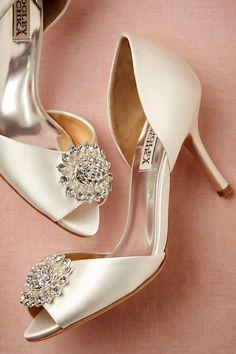 bhldn satin heels.