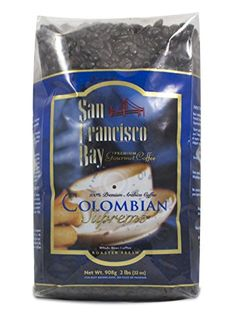 San Francisco Bay Coffee Whole Bean Colombian Supremo 32 Ounce -- Click on the image for additional details. Note: It's an affiliate link to Amazon.